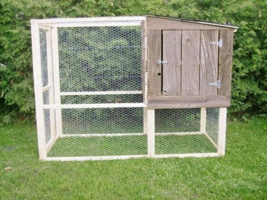 Homes  Sale on New Handmade Barn Board Construction Chicken Coop Run    325